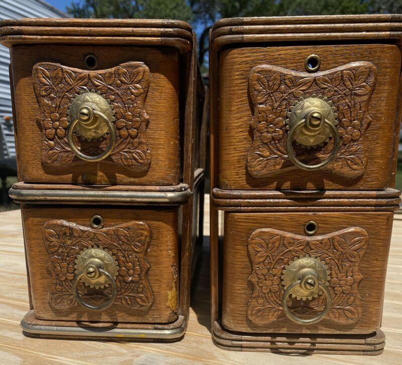 Antique Seeing Machine Drawers
