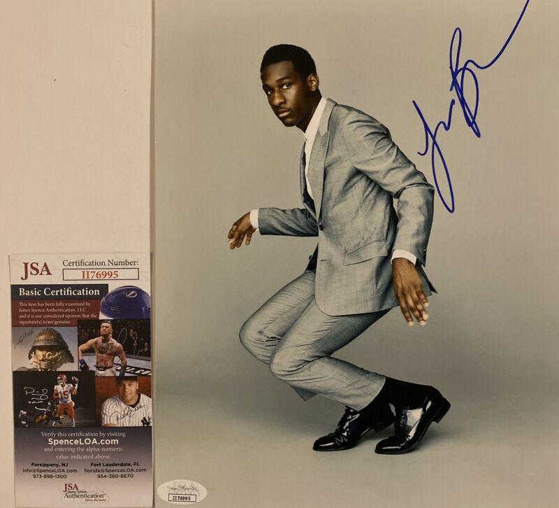 Leon Bridges Signed 8x10 Photo Autographed JSA COA