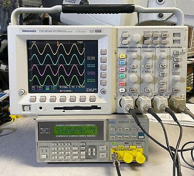 Tektronix Tds3054b 4 Ch Dpo Oscilloscope 500mhz 5gsas Trg Fft