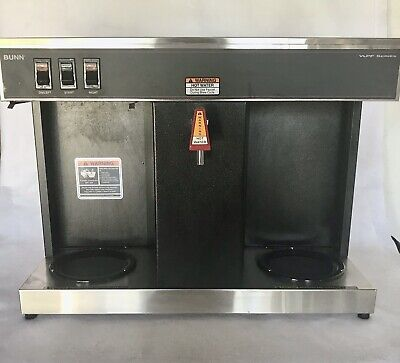Bunn 07400.0005 Vlpf Automatic Commercial Coffee Brewer 2 Warmers - As Is