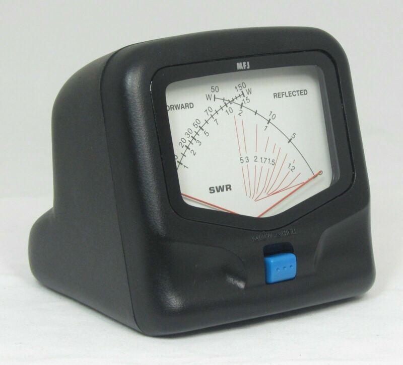 MFJ-822 HF/VHF SWR/Wattmeter - 1.8 to 200 MHz 30/300 Watts. Base mobile ham