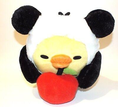 Rilakkuma Kiiroitori Panda Chick Apple Plush Stuffed Animal Japan Kawaii Doll  - Kawaii Panda Plush