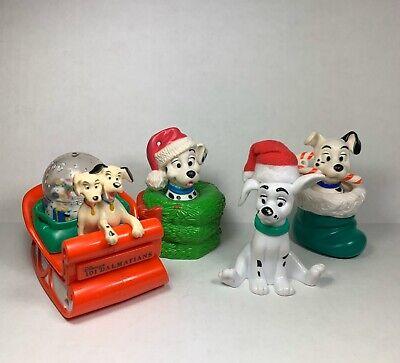 Disney 101 Dalmatians Christmas Snow Globe & Figures Set | 4pcs | Free Shipping