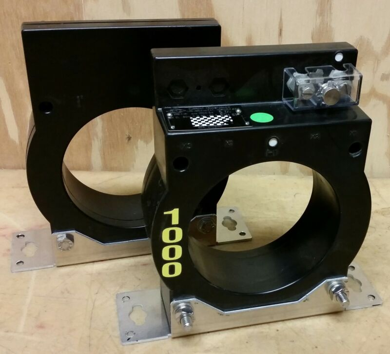 Ritz Current Transformer DCEW Single Ratio High Accuracy 1000:5, 110601012.0219