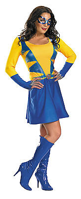 Wolverine Wild Thing X-Men Female Adult Costume Marvel Size 4-6 - Wild Thing Costumes