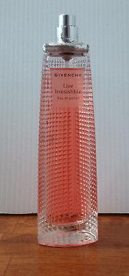 LIVE  IRRESISTIBLE  By GIVENCHY  Eau De parfum Spray 2.5 Oz. *NO BOX NO CAP*