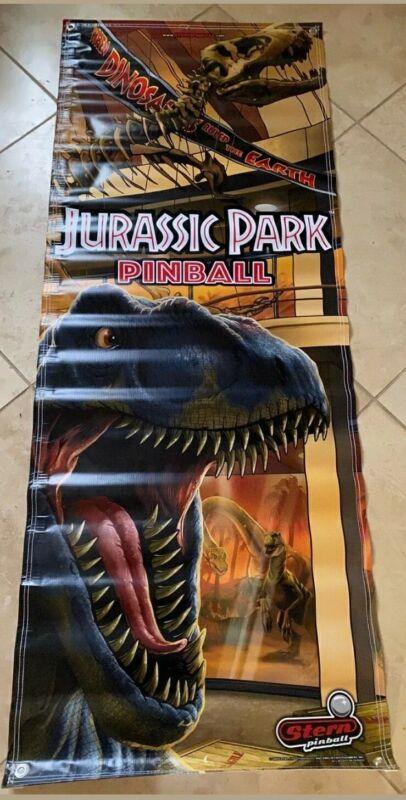 Jurassic Park Stern Pinball Full Size Banner Authentic