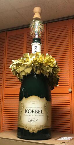 Korbel Champagne Display (Large)