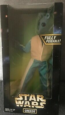 """Star Wars Action Collection Greedo Fully Possible 12"""" Action Figure Hasbro NIB"""