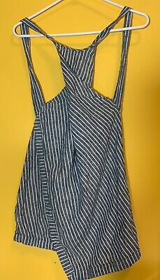 Free People Pinstripe Tank Top Size 0