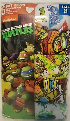Boys Teenage Mutant Ninja Turtle 5 Pack Underware - Teenage Mutant Ninja Turtle Mädchen