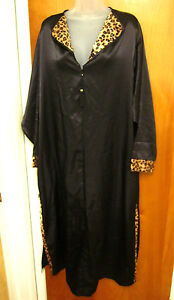 DELTA-BURKE-pajama-dress-XL-leopard-print-graduation-nightgown-plus ...