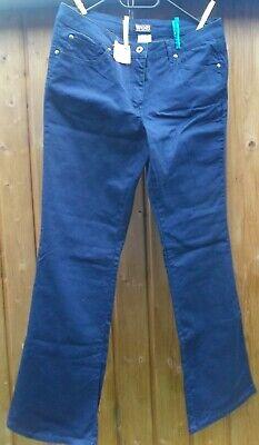 Schrittlänge Jeans (Jeans WOB Gr. 40 Dunkelblau Neu Schrittlänge 82 cm Bundweite 40 cm stretch)