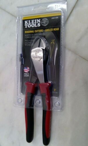 🌟🎈 Klein Tools J248-8-SEN Diagonal Cutters Angled Head 8
