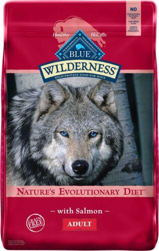 Blue Buffalo Wilderness Salmon Recipe Grain-Free Dry Dog Food 24LB