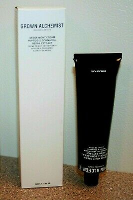 Grown Alchemist Detox Night Cream Peptide-3 Echinacea Reishi 1.35 oz Full Size