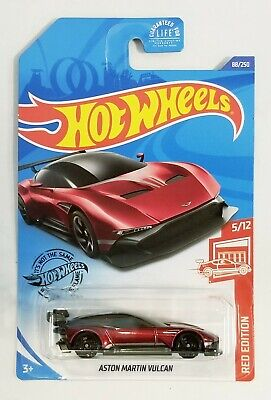 Hot Wheels Aston Martin Vulcan Red Edition 5/12 #88/250