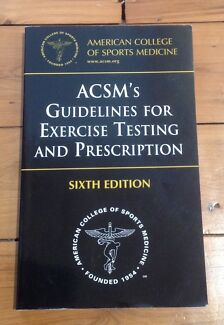 ACSM's Guidelines for Exercise Testing and Prescription Mortdale Hurstville Area Preview