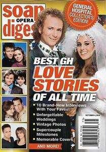 Soap Opera Digest October 4 2018 Best General Hospital Love Stories of All Time