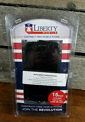 Liberty Mobile Prepaid Cell Phone - Includes 15 days of service Unlimited Talk/T