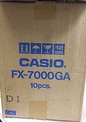 Casio Fx 7000Ga Graphing Scientific Computer Calculator Brand New In Box
