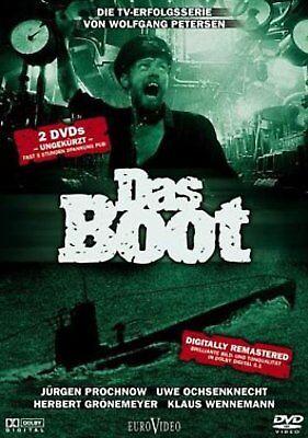 Das Boot - Die Fernsehserie (TV-Serie) # 2-DVD-NEU