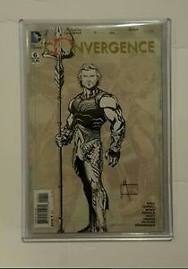 Convergence issue # 6C/ Aquaman sketch