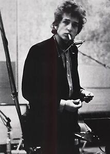Bob Dylan Music Star Silk Cloth Poster 20 x 13