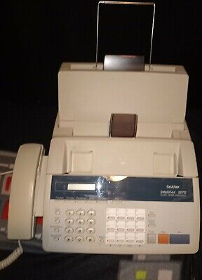 Brother Intellifax 1270 Fax Machine Plain Paper Facsimile Phone