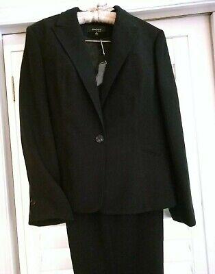 NWT JONES WEAR ESSENTIALS Classic Dark Navy Sz 16 Pant Suit GORGEOUS! $144