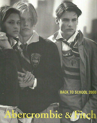 Abercrombie & Fitch rare BACK TO SCHOOL 2000 issue A&F Quarterly BRUCE WEBER