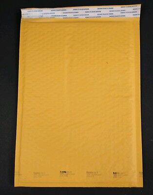 50 Bubble Lite Bubble Mailers 5 10.5x16 Padded Envelopes Bags Self Seal Kraft