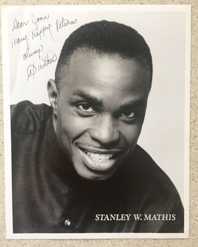 "Stanley Wayne Mathis Signed / Inscribed 8""X10"" Photo The Lion King /  Oh, Kay!"
