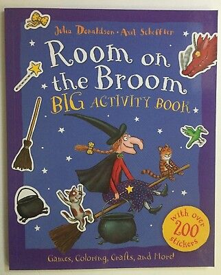 Room on the Broom Big Activity Book Halloween Gift by Julia Donaldson Paperback](Halloween Activity Books)
