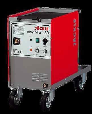 Jäckle MaxiMig 250 MIG/MAG Schweißgerät mit Zubehör