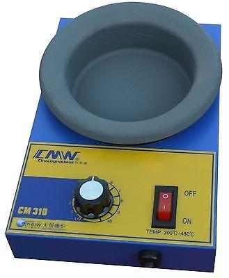 Cm310 Solder Pot Bath 300w Lead-free Titanium Alloy Round Soldering Irons 100mm