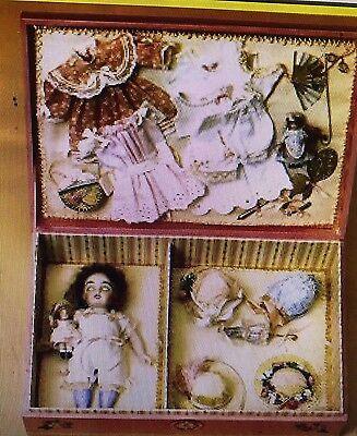 "Gildebrief 3/2000 antique 5.5"" mignonette doll wardrobe dress pattern CD format"