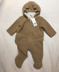 Infant (6mos) winter one-piece (brand new w tags)