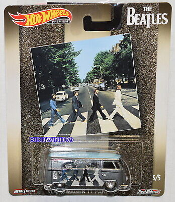 HOT WHEELS 2019 POP CULTURE THE BEATLES VOLKSWAGEN T1 PANEL BUS #5/5 W+