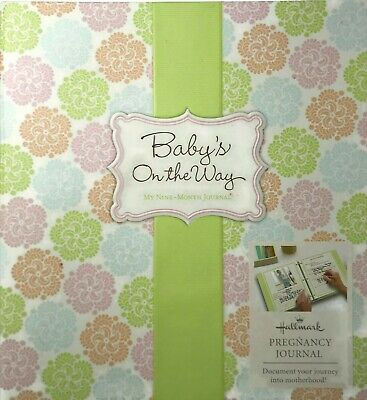 HALLMARK Babys On The Way 9 MONTH Pregnancy JOURNAL Book for Pregnant MOMS to be for sale  Shipping to South Africa