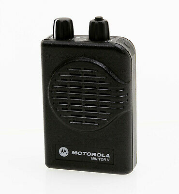Motorola Minitor V 5 Low Band 33-37 Mhz 2-channel Wstored Voice