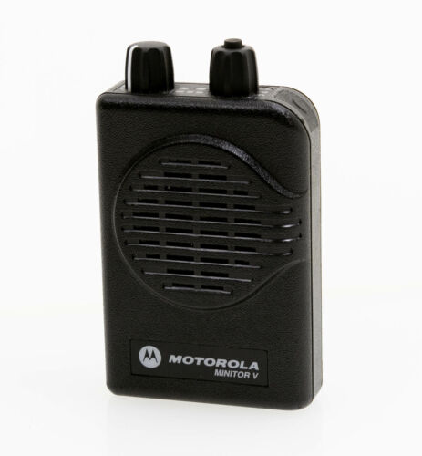 Motorola Minitor V 5 Low Band 33-37 MHz 2-Channel w/Stored Voice