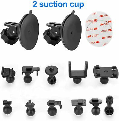 "Dash Cam Suction Cup Mount - for AUKEY, Crosstour, TOGUARD, APEMAN, YI 2.7"", Z-E"