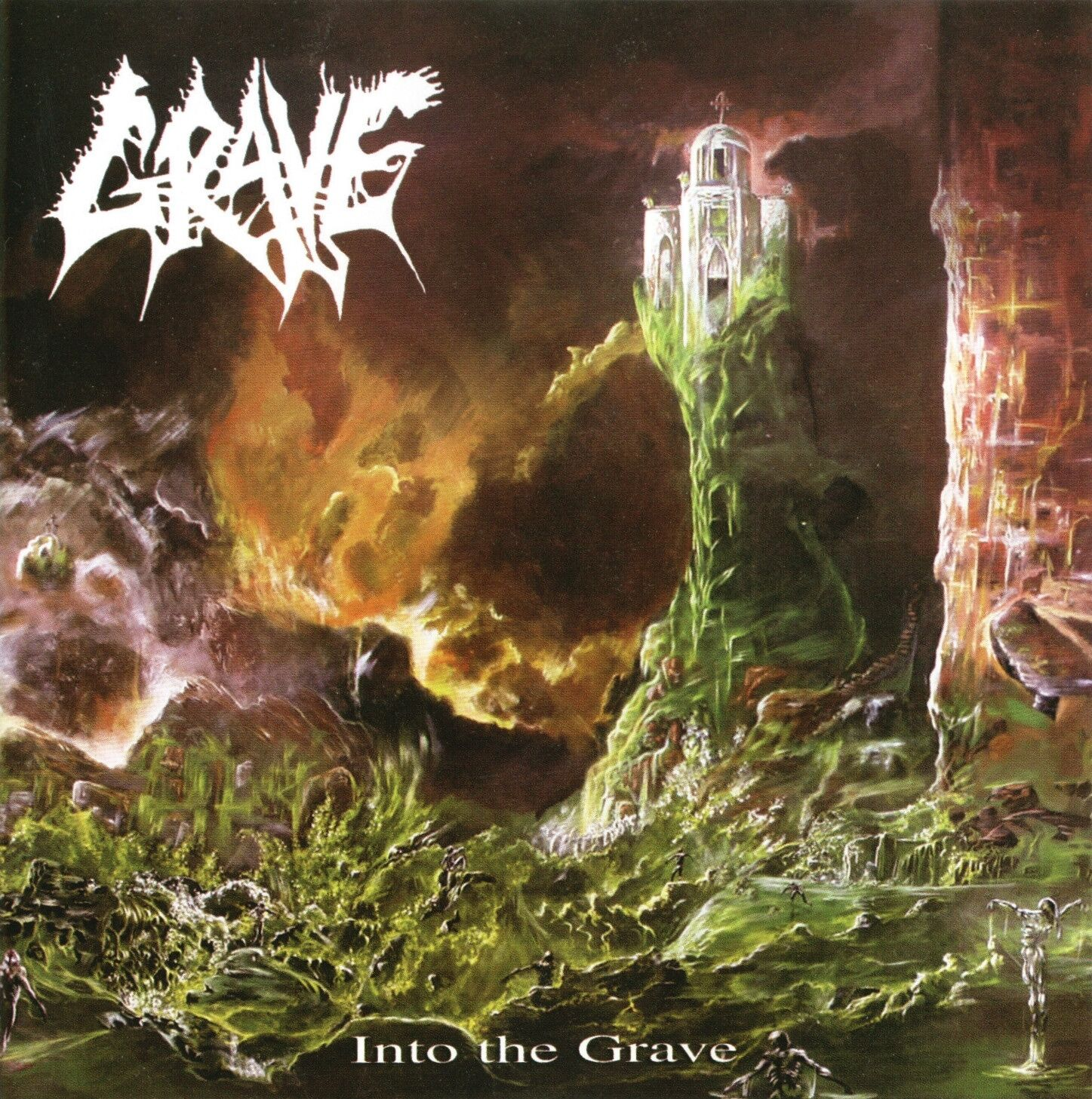 GRAVE - INTO THE GRAVE - CD SIGILLATO 2001