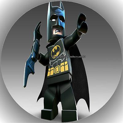 Fondant Tortenaufleger Tortenbild Geburtstag Batman & Superman  T3 ( 2 )