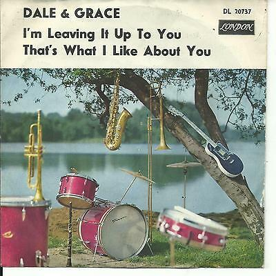 7'Dale & Grace >I'm leaving it up to you/That's...<  Germany black London