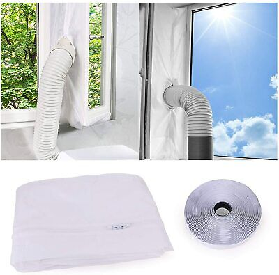 4M Universal Airlock Window Seal for Portable Air Conditioner And Tumble Dryer