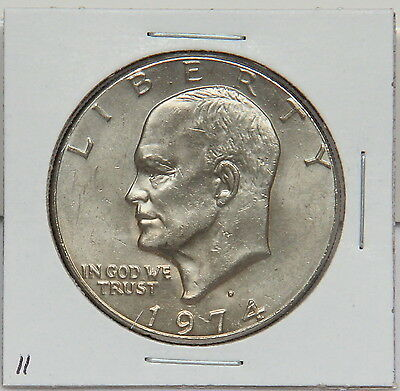 1974 D EISENHOWER DOLLAR COIN   IKE