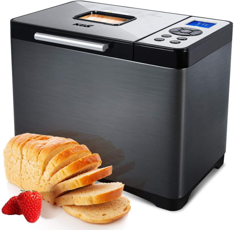 automatic bread machine 2lb xl stainless steel
