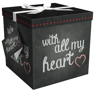 Gift Wrap Box (Gift Box - Large Gift Boxes with Lids - Amrita Heart -)